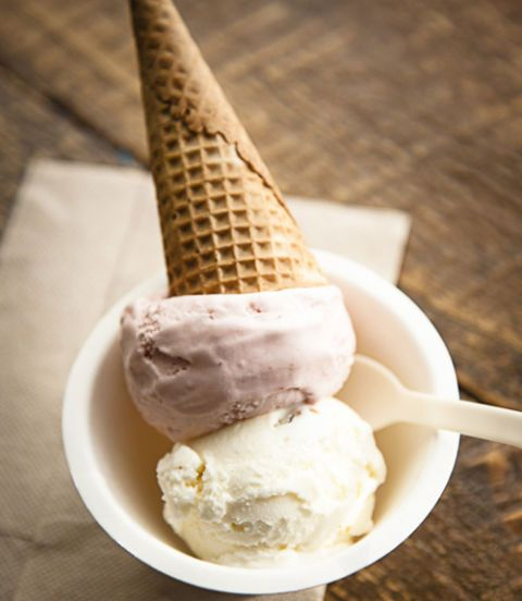Started by friends Alexis Miesen and Jennie Dundas in 2007, Blue Marble uses local organic ingredients to make their award-winning, small-batch ice creams. Favorite scoops: strawberry and mint-chocolate chip. (718-858-0408; bluemarbleicecream.com)