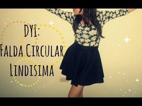 36c163cba5 Como hacer una Falda circular perfecta!!! (Trazo y Confección) - YouTube