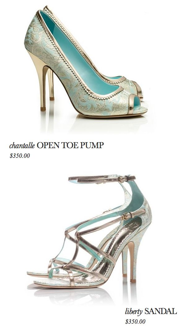 Tory Burch Something Blue Wedding Shoes The Open Toe Pump Is Divine