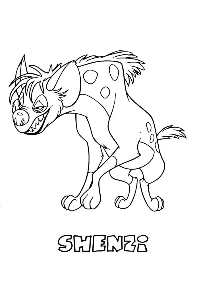 Printable The Lion King Coloring Pages http://procoloring.com/the ...