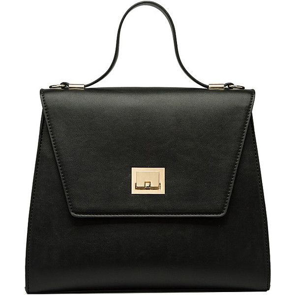 Melie Bianco Athena Large Color Block Tote - Black - Totes ( 50) ❤ liked e9e43a8db6c3c
