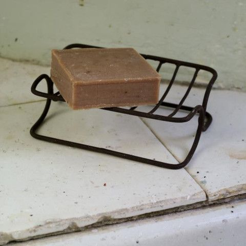 Traditional Style Metal Soap Dish