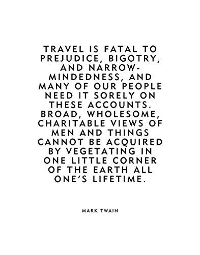 Image result for mark twain travel is fatal | Quotes to ...