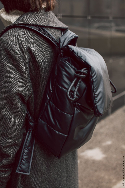 Купить Стёганый рюкзак ( мягкий, стильный, лёгкий) - рюкзак, рюкзак городской, рюкзак мужской