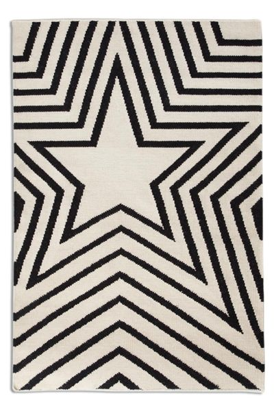 Wool Star Rug   Also Comes In Blue, Taupe, Or Red   Rockett St