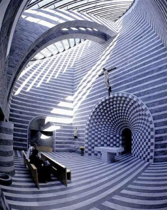 Notable Arquitectura en un lugar para orar