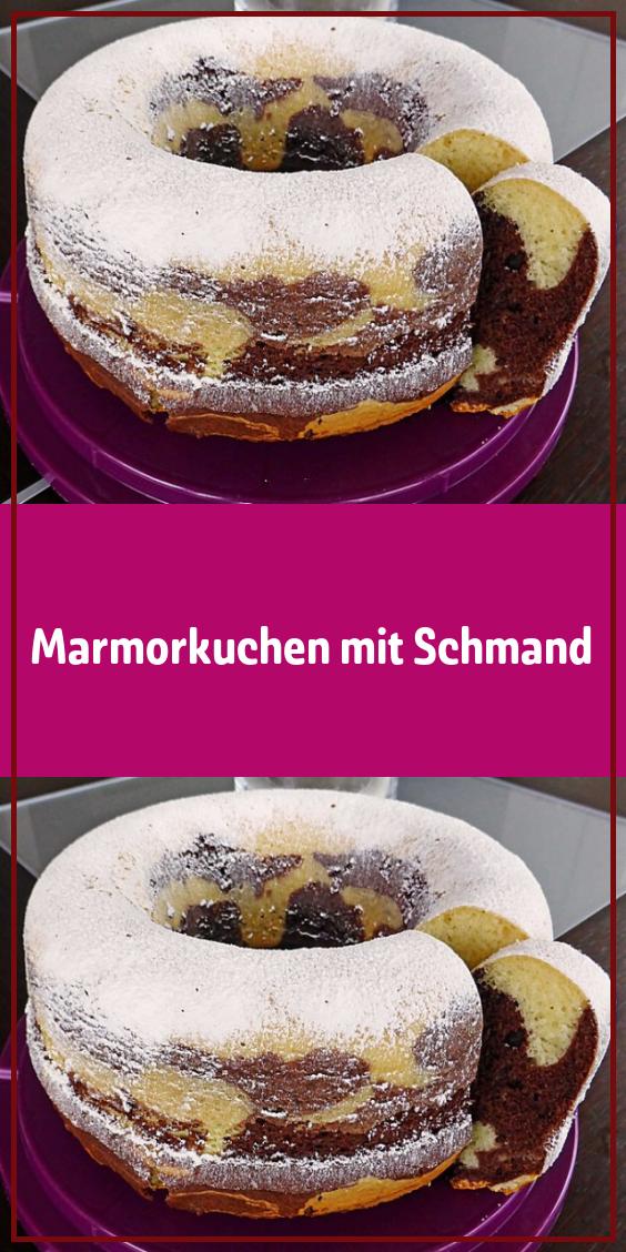Marmorkuchen mit Schmand – Gesunde Rezepte