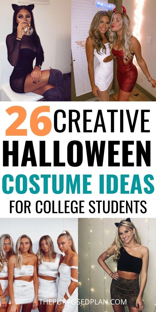 26 Creative College Halloween Costume Ideas Easy c