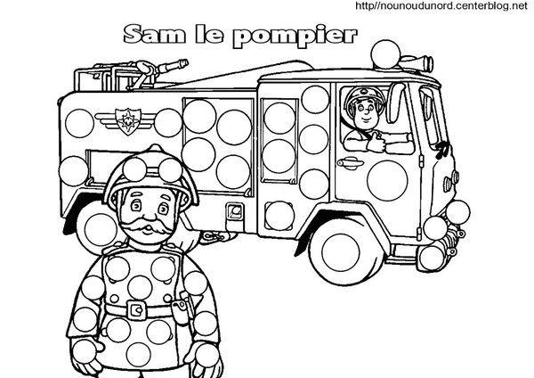 Comptine pompier comptines poemes t firefighter - Pompier dessin ...