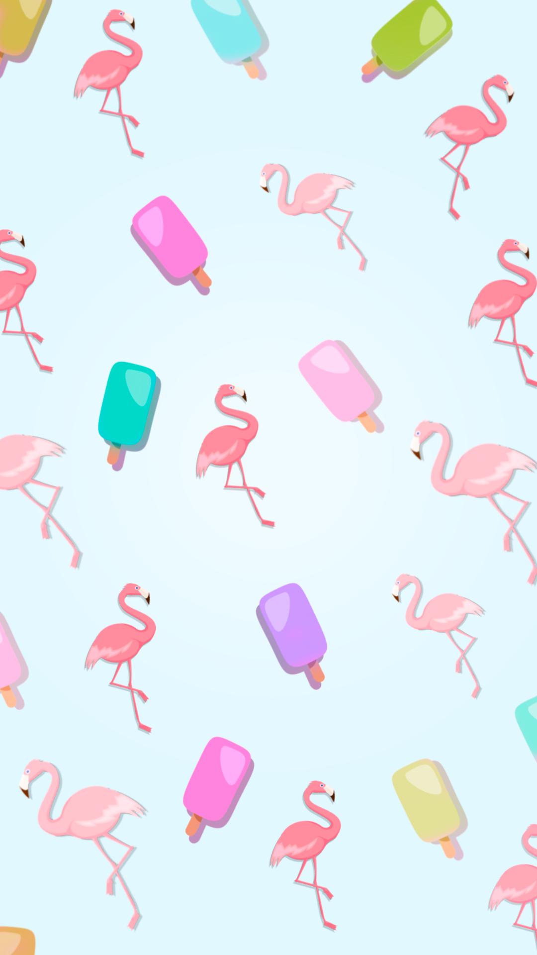 Freebie fondo de pantalla para celular pop flamingos for Imagenes para fondo de celular
