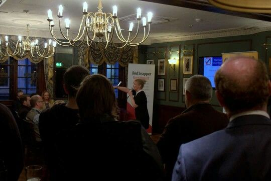 Our first networking party was a great success... we might just have to do it again!