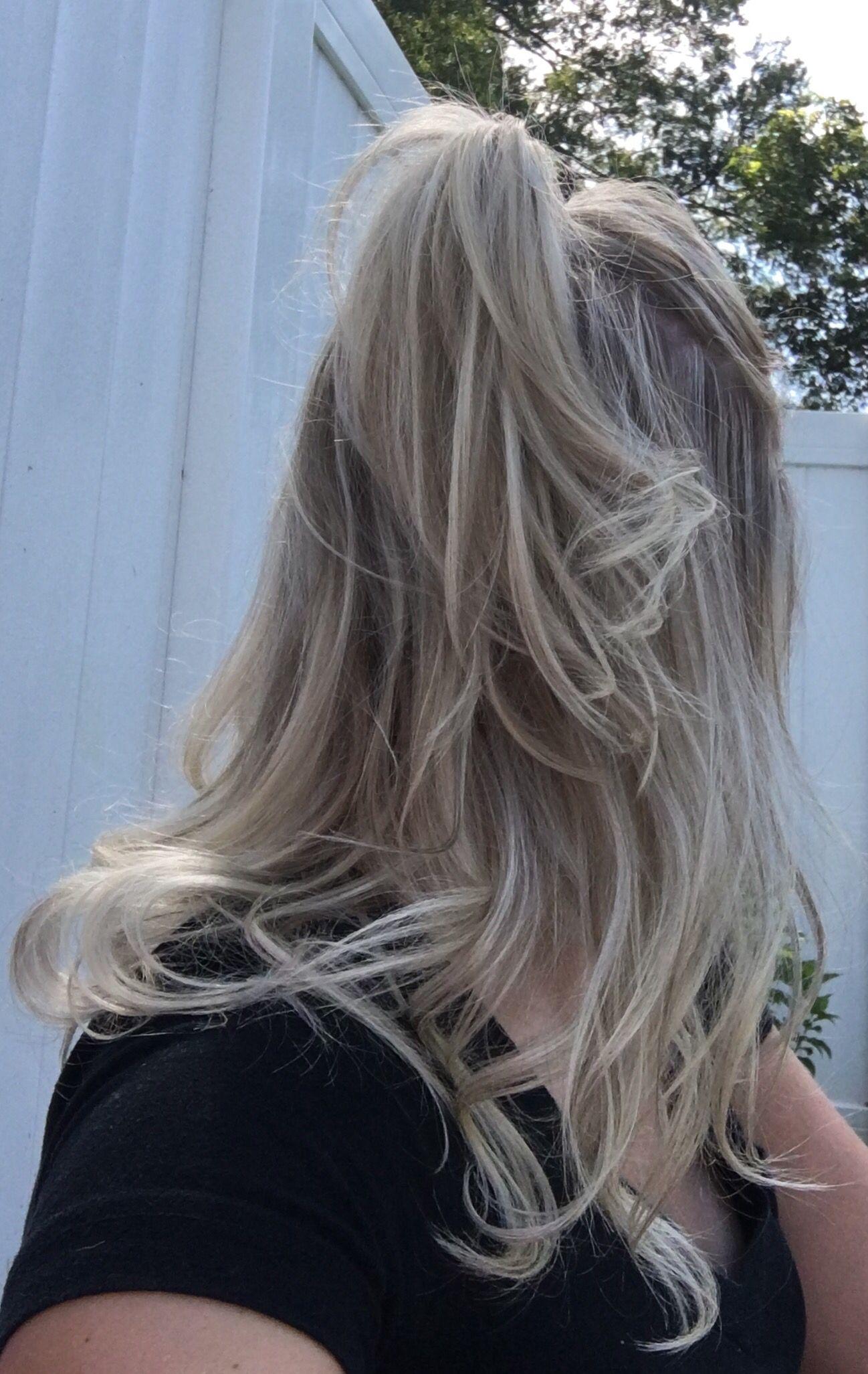 Platinum Blonde Highlights With Light Brown Lowlights Platinum Blonde Highlights Blonde Highlights Platnum Blonde