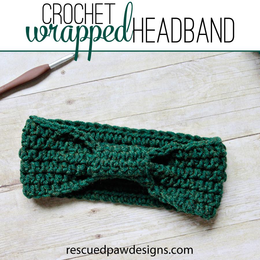 Wrapped Headband Crochet Pattern