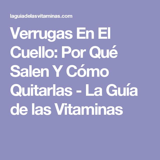 Verrugas En El Cuello: Por Qué Salen Y Cómo Quitarlas - La Guía de las Vitaminas