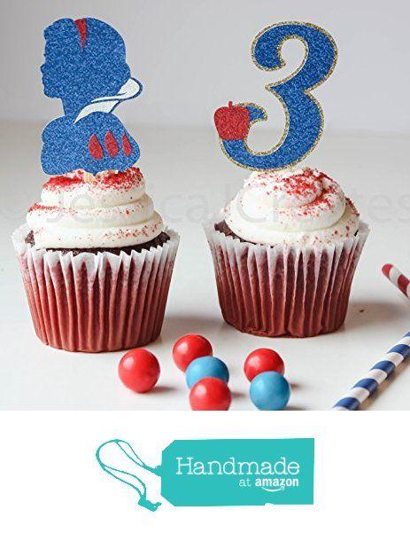 Snow White Cupcake Toppers - Princess Cupcake Toppers - Cupcake Toppers - Snow White - Princess Party Decorations from JessicaJCreates https://www.amazon.com/dp/B01BBHDEU8/ref=hnd_sw_r_pi_awdo_Vc0WwbX60XSF0 #handmadeatamazon