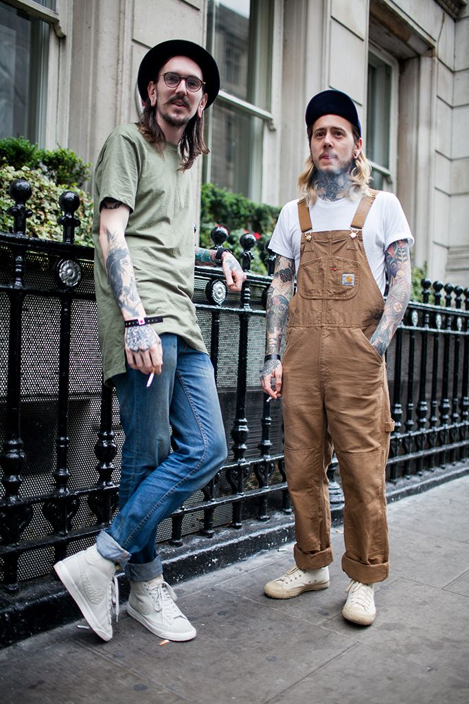the latest ddff0 19c36 Street Style at London Collections Men Spring 2017 PHOTOS  WWD
