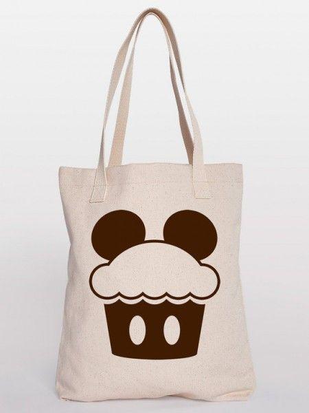Disney Cupcake Tote Bag♥ 2 of my favorite things ~ cupcakes   ...