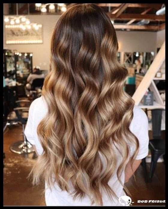 blonde highlights braune haare