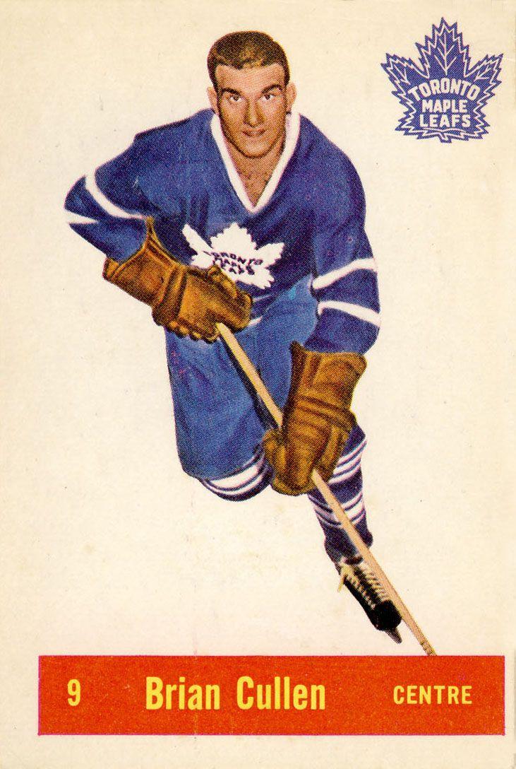Brian Cullen 1957-58 Parkhurst Hockey Card