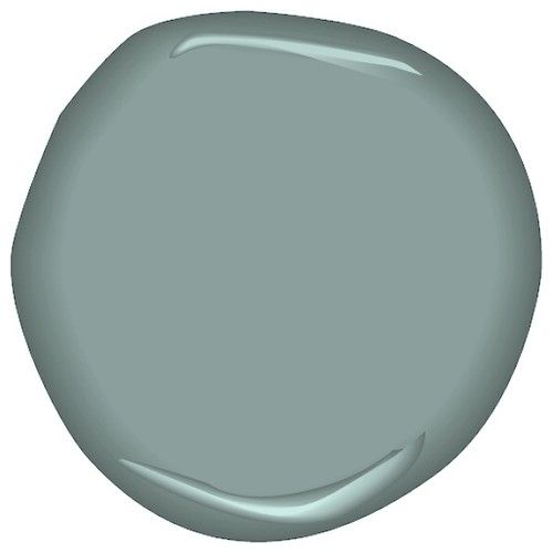 Hidden Lake Sac Accent Wall Colors: Benjamin Moore Mystic Lake Csp- 745