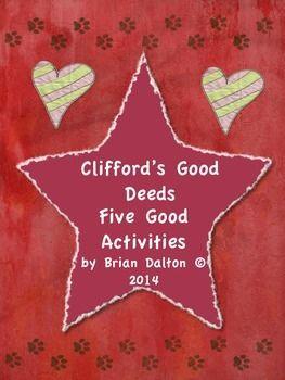 Clifford S Good Deeds Printables