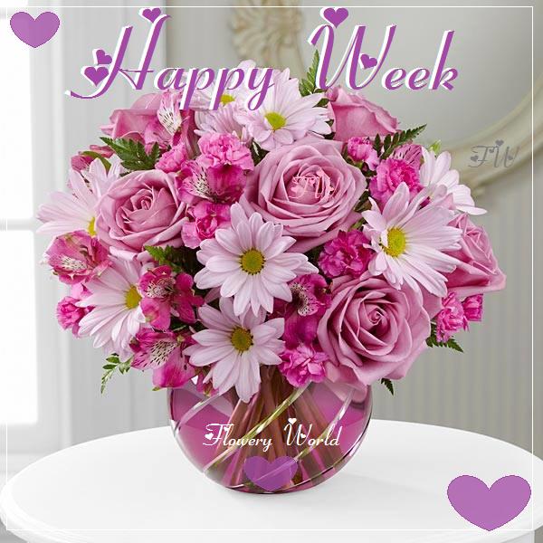 *Happy week* Roses&Daisies* Flower delivery, Spring