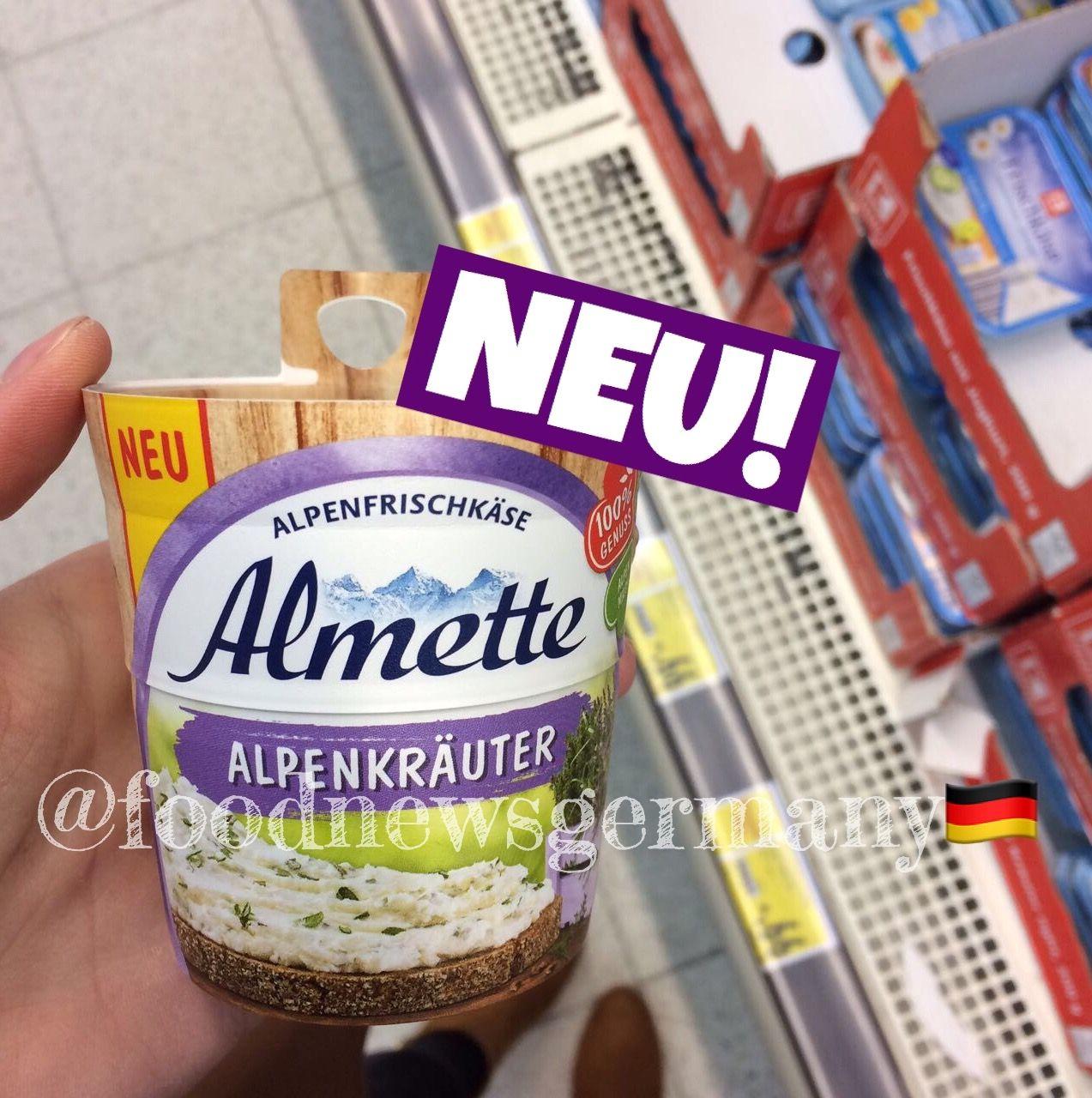 ALMETTE ALPENKRÄUTER 🌿🗻🧀. PRODUKTNEUHEIT