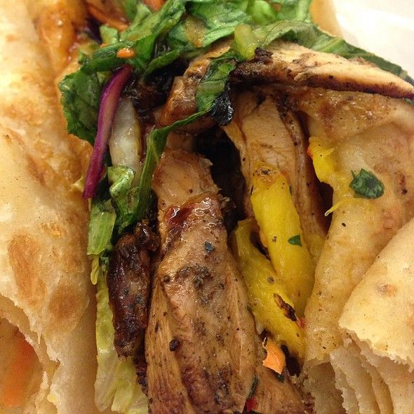 Carib Fusion Is A Food Truck That Is Typically On The Corner Of