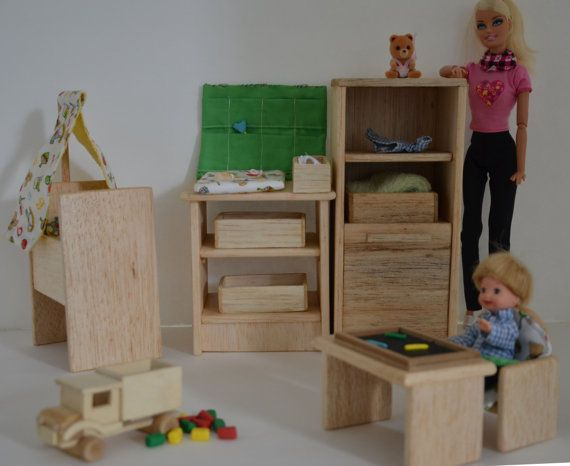 7 Inspiring Kid Room Color Options For Your Little Ones: Barbie Baby Nursery Furniture