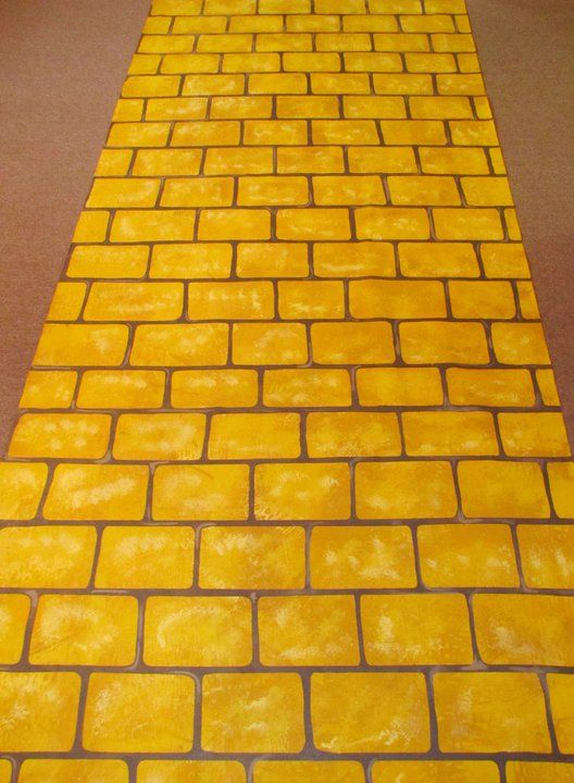 Follow The Yellow Brick Road An Isle Runner From The