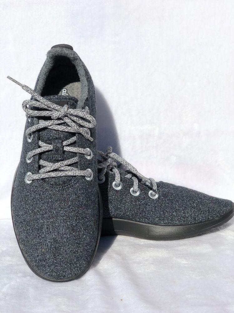 31f442d1ba1fc LIMITED EDITION Allbirds Men's Size 10 Heather Charcoal Blue Wool ...