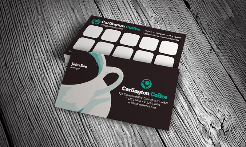 Download Httpbusinesscardjournalcomretrocoffeebusiness - Coffee business card template free