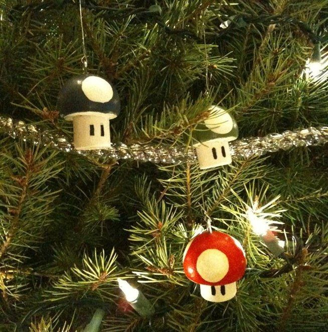 Geek Up Your Holidays With These 10 Nerdy Diy Christmas Tree Ornaments Diy Christmas Tree Ornaments Nerdy Christmas Ornaments Handmade Christmas Decorations