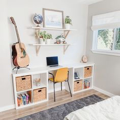 Cozy Minimalist Tween's Bedroom: A nautical remodel on a budget