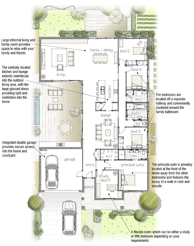 images about Beautiful House Plans on Pinterest   Floor       images about Beautiful House Plans on Pinterest   Floor plans  House plans and Family homes