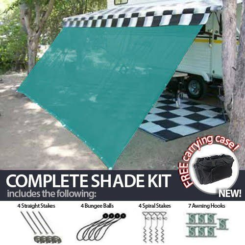 8 X 14 Rv Awning Shade Green Complete Kit With Carry Bag Canopy Shelter Screen Panel And Awning Maintenance Manual Motor Hom Awning Shade Trailer Awning Awning