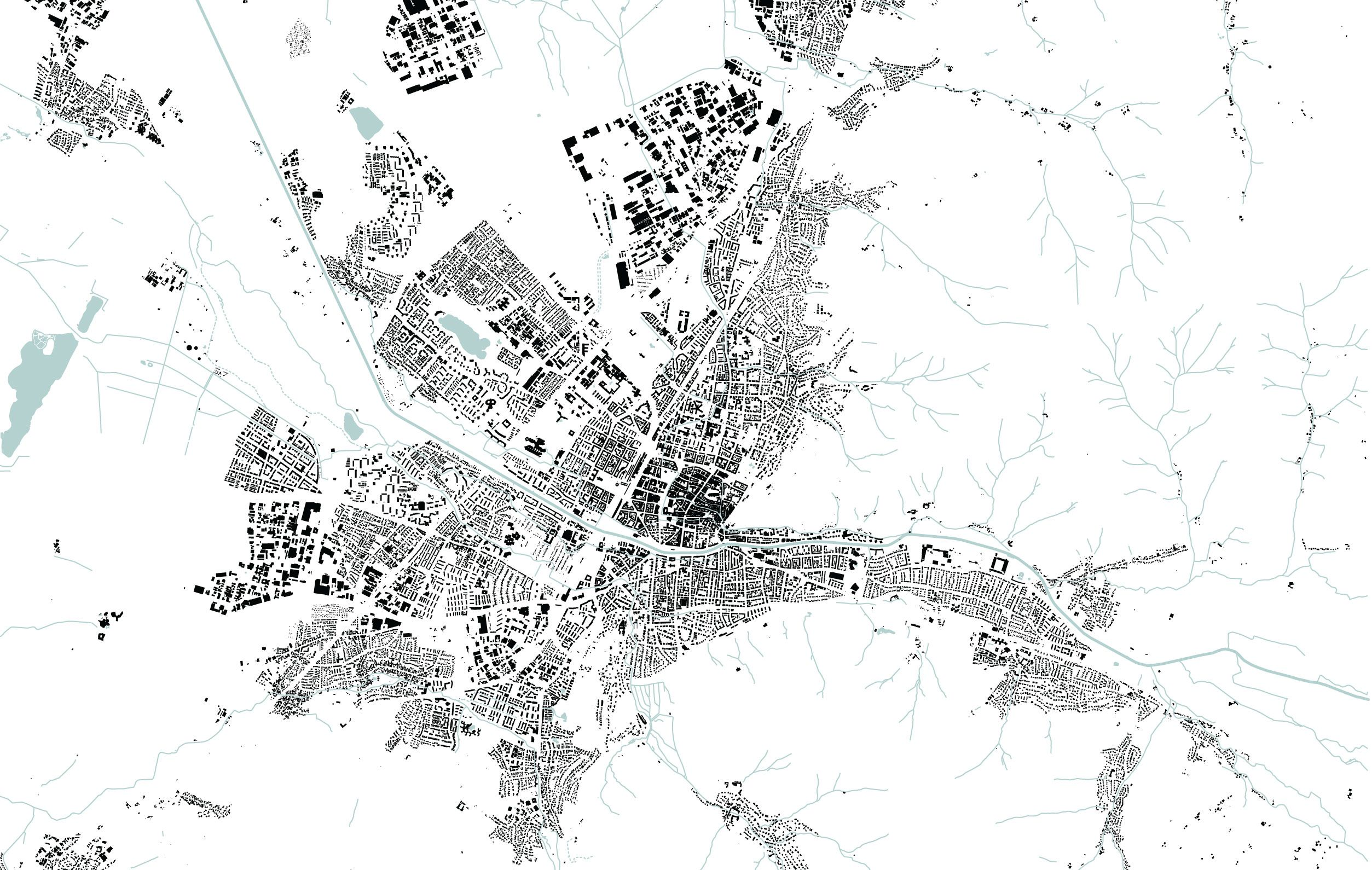 Freiburg Nolli map 130000 schwarzplan Pinterest Freiburg