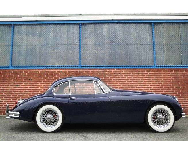 1958 Jaguar XK 150 Fixed Head Coupe.