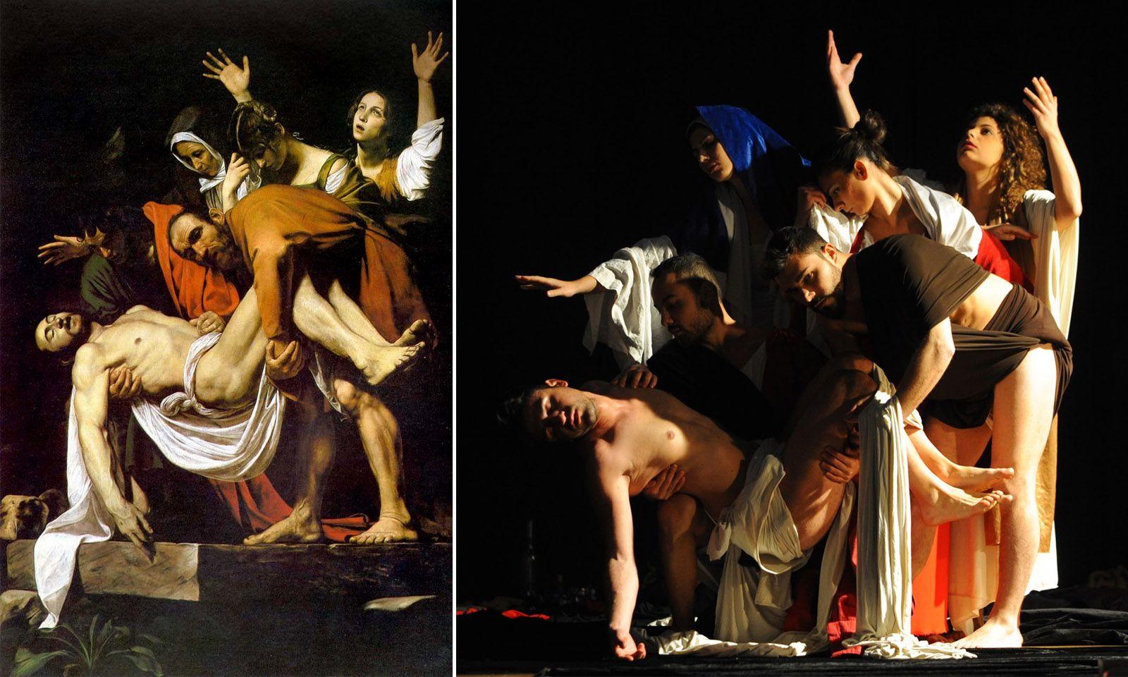 Deposizione Caravaggio