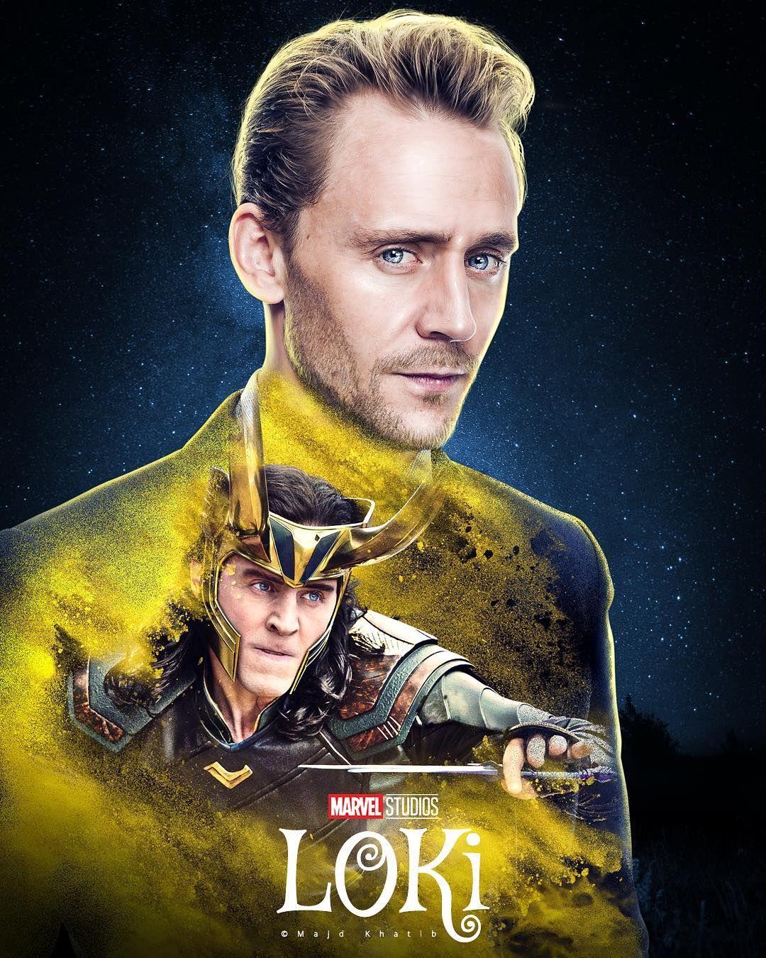 Another Design For Loki Majdkhatibart Graphicdesign Design Edit Manipulation Photoshop Retouching Adobe Loki Loki Poster Loki Wallpaper