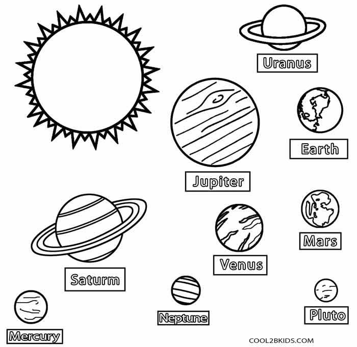 практически картинка для раскрашивания планеты солнечной системы рыбаки стали