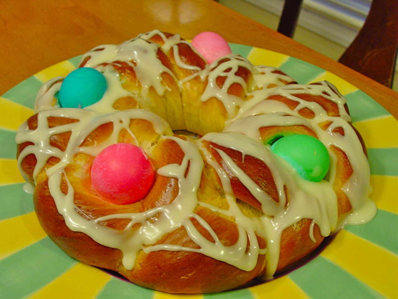 German Traditions Easter Bread. My bread for the family