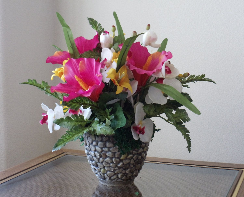 Results For Artificial Tropical Flower Arrangements Ideas