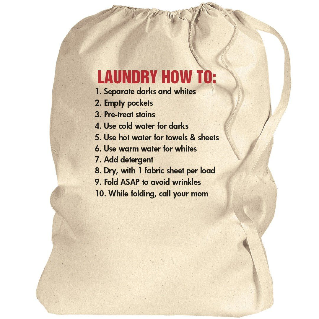 College Student Gift College Laundry College Laundry Bags