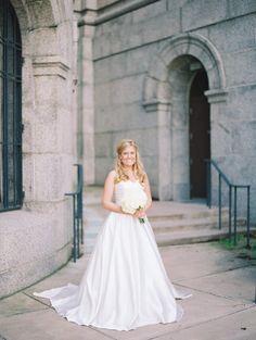 Romantic Strapless W Www.mccormick Weddings.com Virginia Beach
