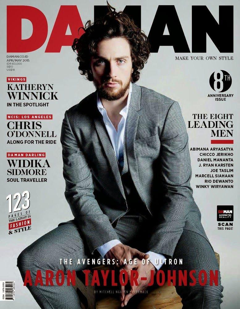 Aaron Taylor Johnson DAMAN Magazine 2015