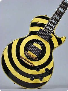 Gibson Custom Shop Zakk Wylde Les Paul 2008 Bullseye Vintageandrare Guitars Vintageguitars Gibson Custom Shop Zakk Wylde Guitars For Sale
