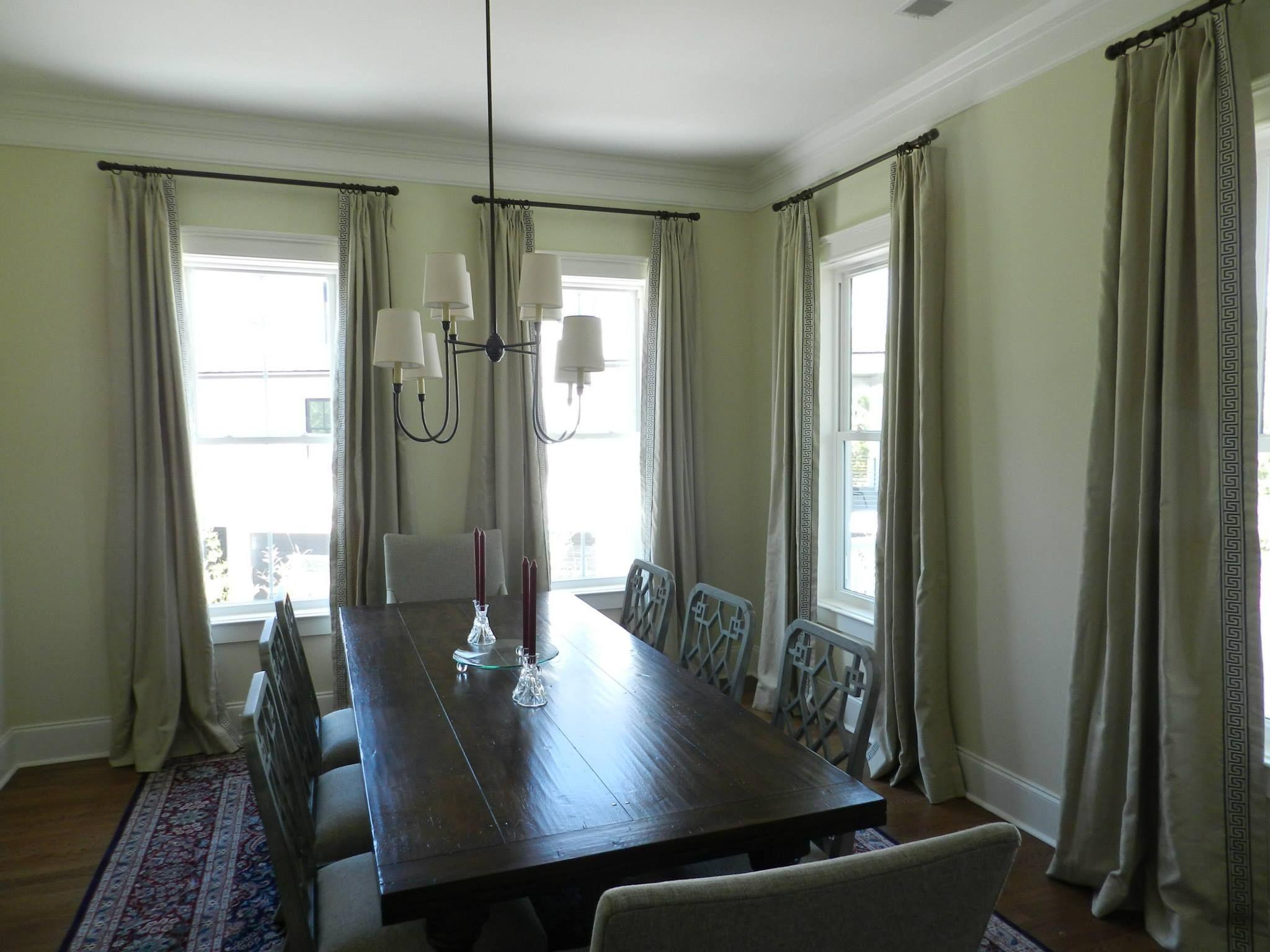 Laura Ramsey Furniture And Interiors | Dining Room In Progress.  #lauraramseyinteriors #charleston #
