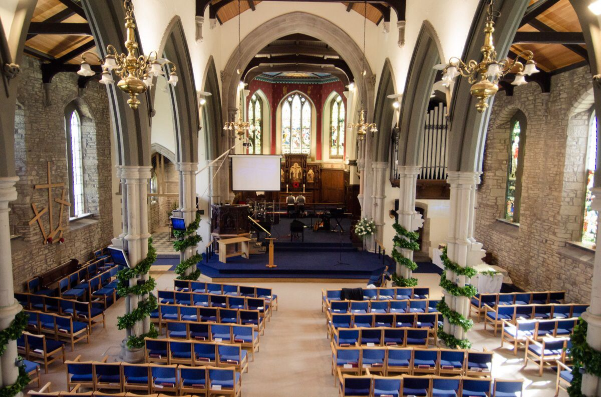Wedding Venue St James' Church, Glossop, Derbyshire