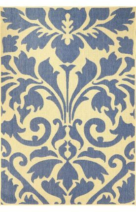 Aperto Outdoor Damask Blue Rug 9 X 12 Only 165 Free S H